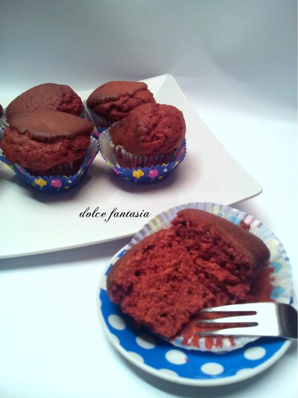 Red Bases For Living Room Decor: Cupcake Red Velvet Ricetta Base