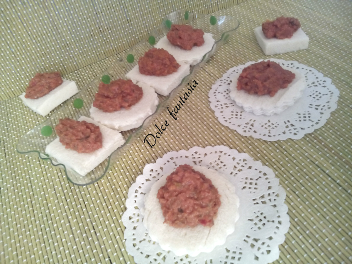 Salsa rossa per crostini