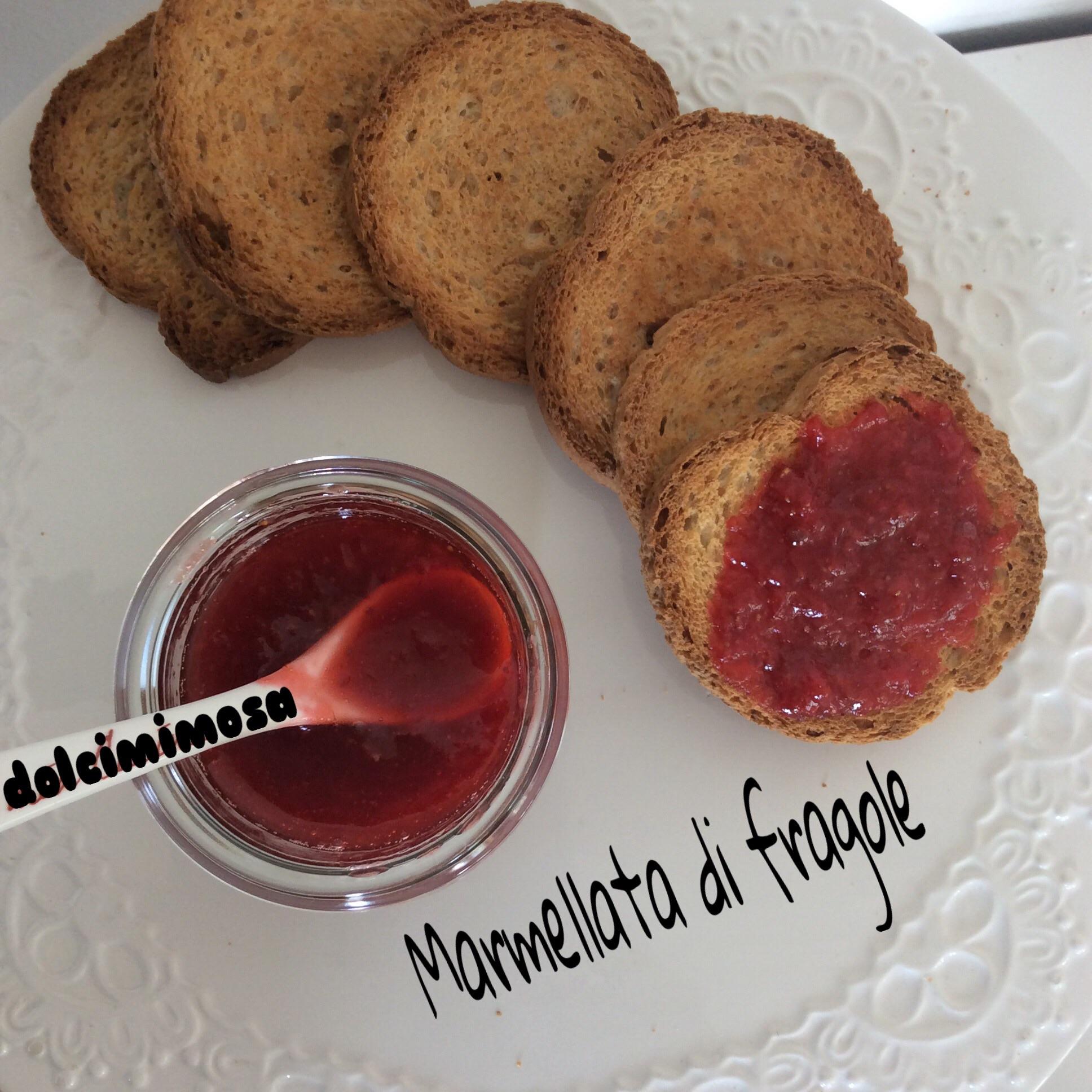 Marmellata di fragole - versione veloce con il Bimby