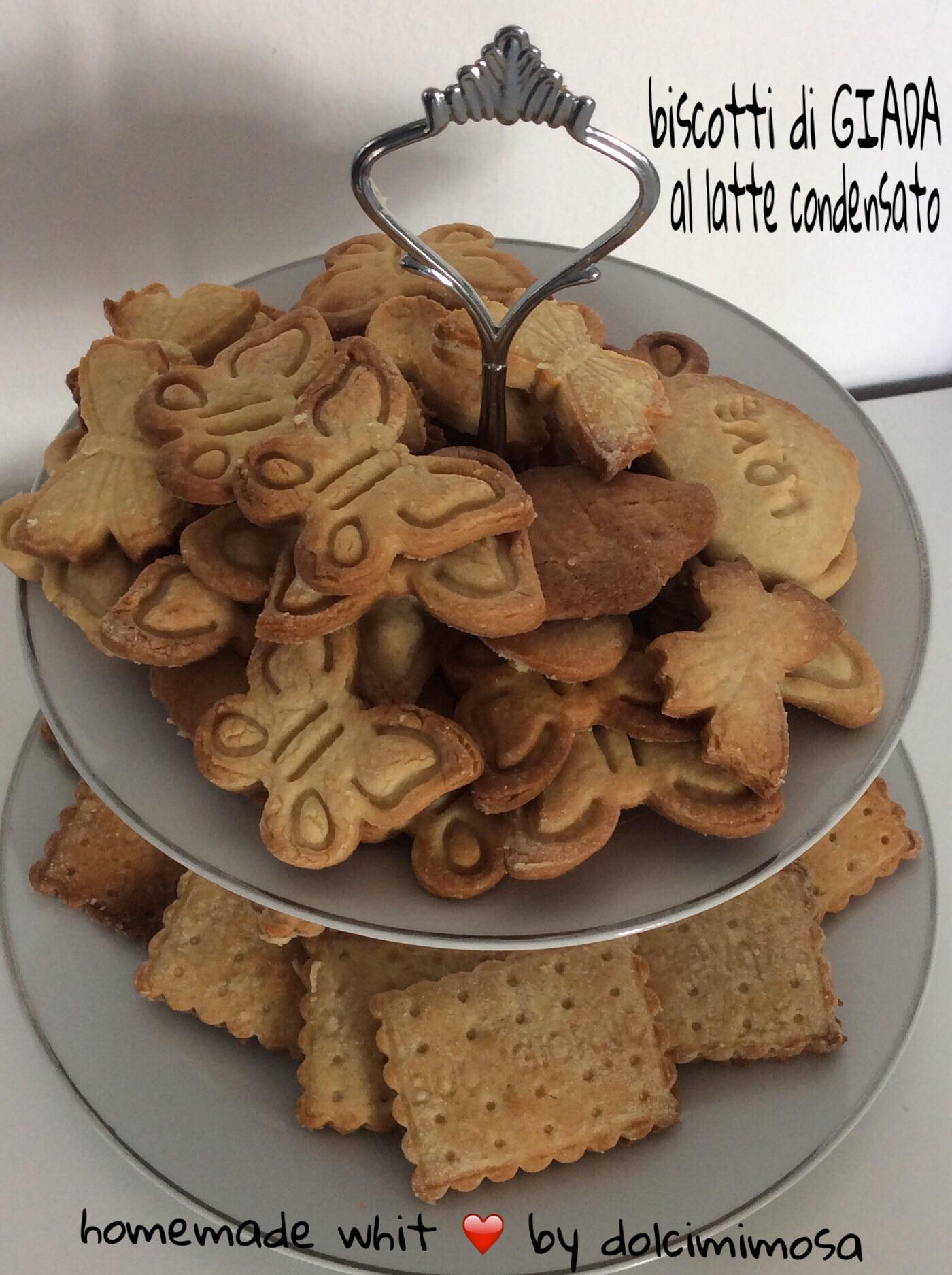 Biscotti di GIADA al latte condensato