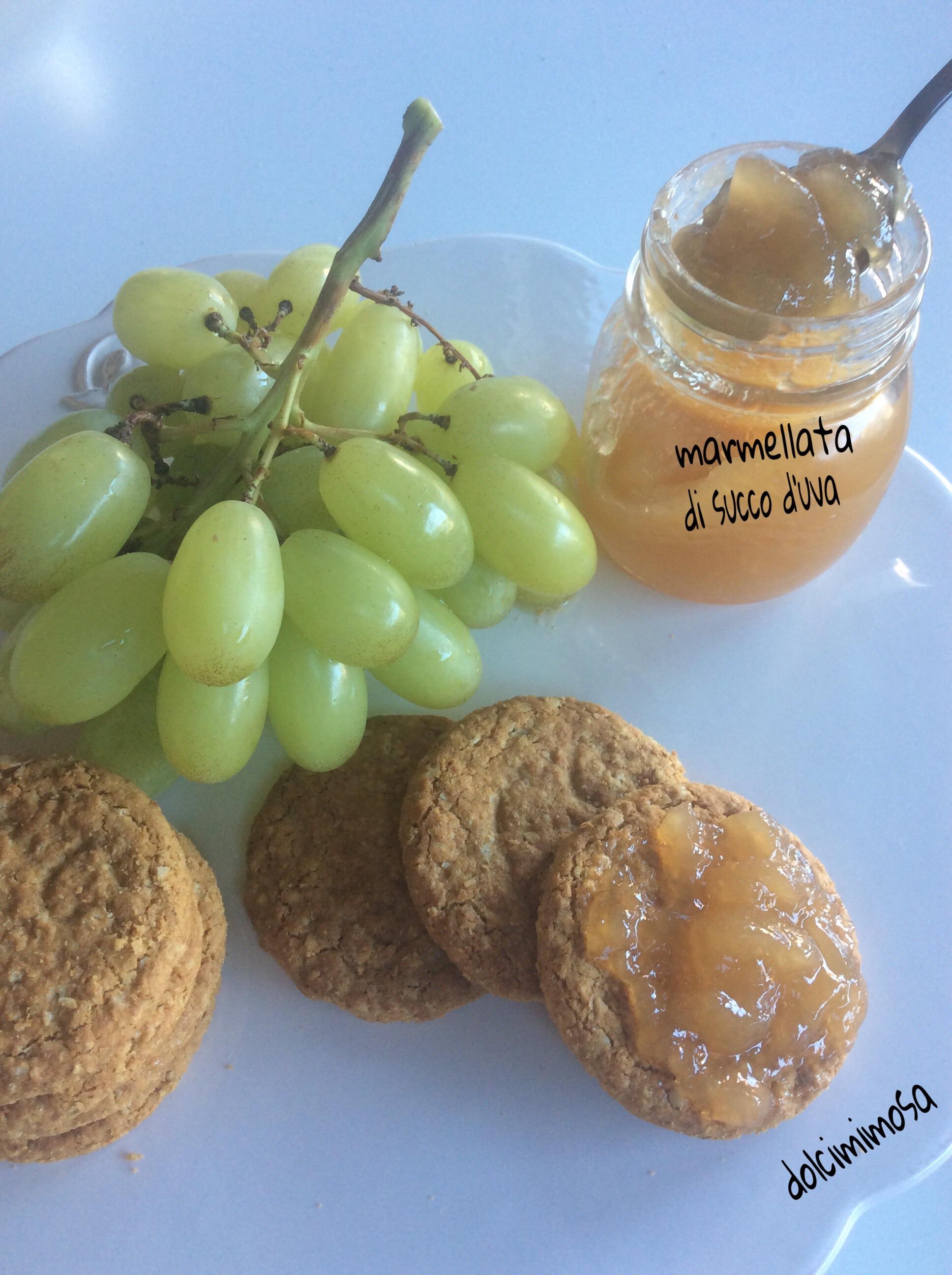 marmellata di succo d'uva