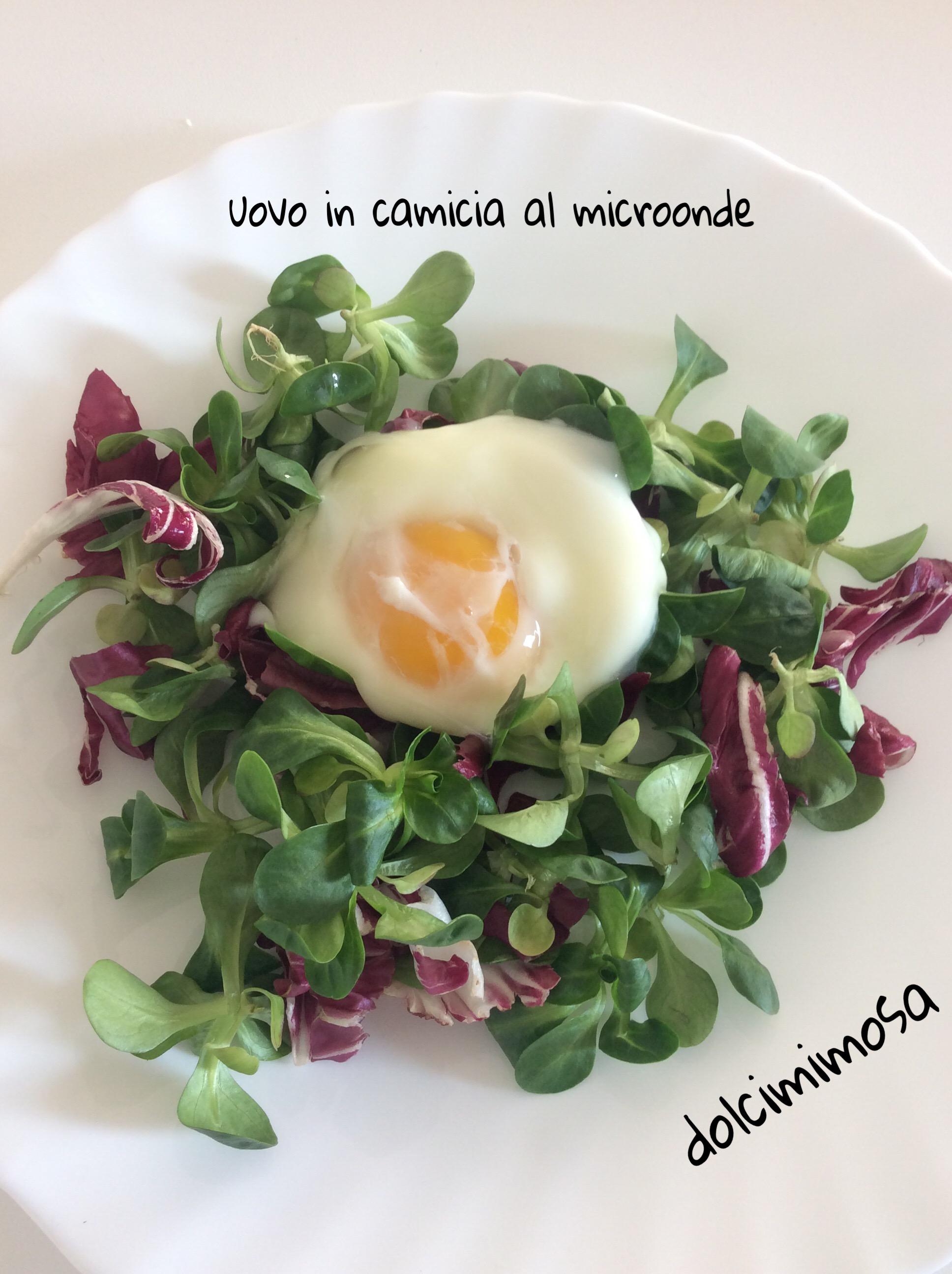 Uovo in camicia al microonde dolcimimosa - Forno tradizionale e microonde insieme ...