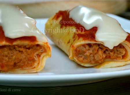 Ricetta cannelloni di carne con crepes