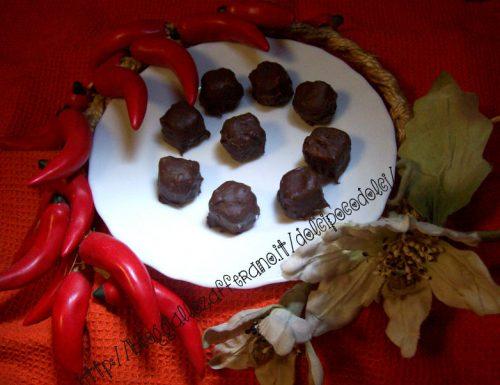Cioccolatini-Ricetta facile