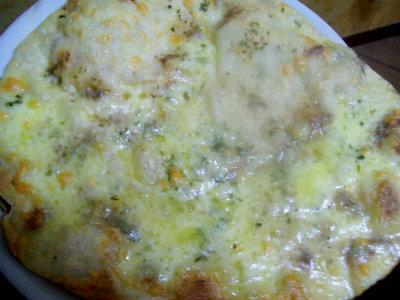 Pizza con alici - Piastra refrattaria per forno casalingo ...