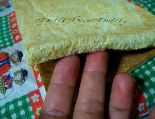 Pan di spagna bianco facile e veloce