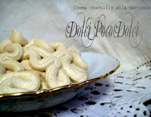 Crema chantilly alla nocciola