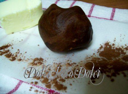 Pasta frolla perfetta al cioccolato