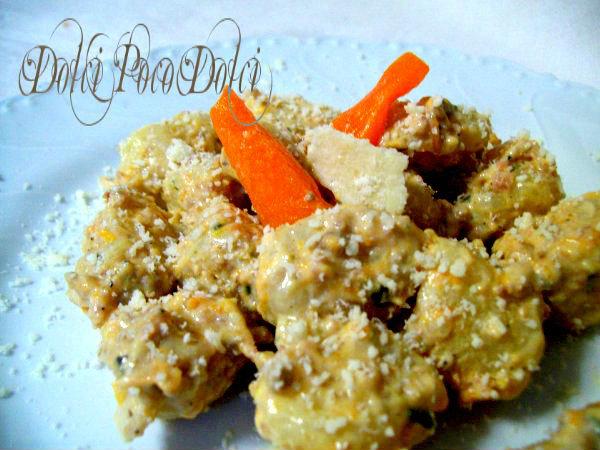 gnocchi-in-salsa di zucca