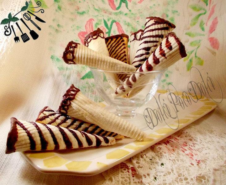 Cialde per coni gelato ricetta con nesquik 04