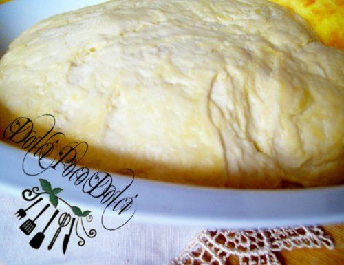 Pasta lievitata ricetta con zafferano e Philadelphia