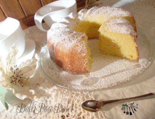 Ciambella al limone senza burro ricetta colazione