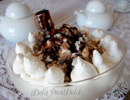 Coppa cioccolato e panna ricetta veloce