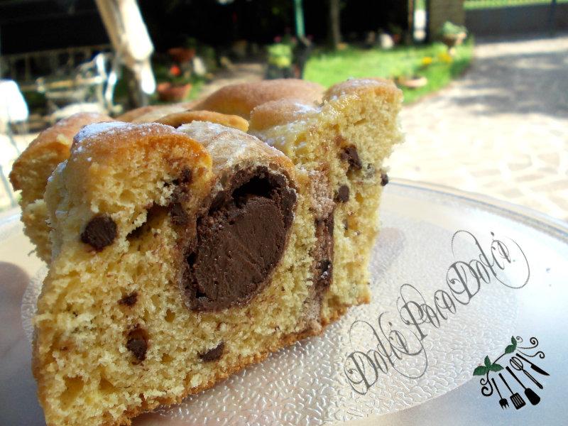 Crema al cioccolato fondente ricetta dolce.
