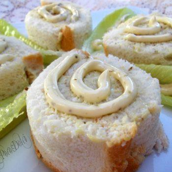 Rotolo di pane in cassetta farcito ricetta veloce