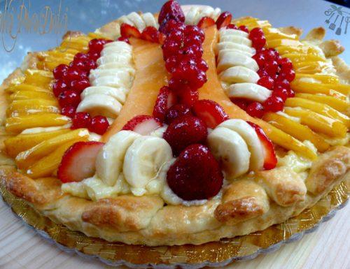 Crostata di frutta ricetta dolce