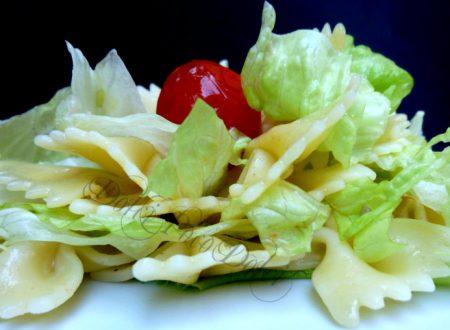 Pasta fredda con verdure ricetta primo