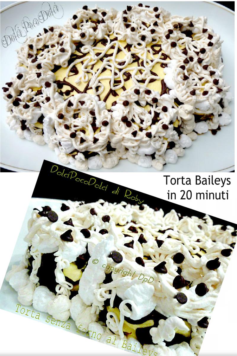 Torta senza forno al baileys ricetta veloce