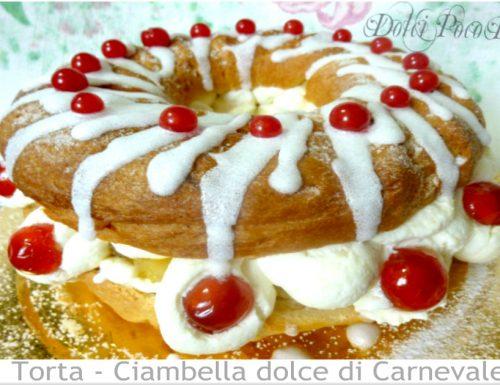 Ciambella lievitata ricetta dolce