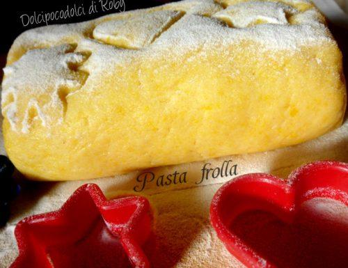 Pasta frolla con patate