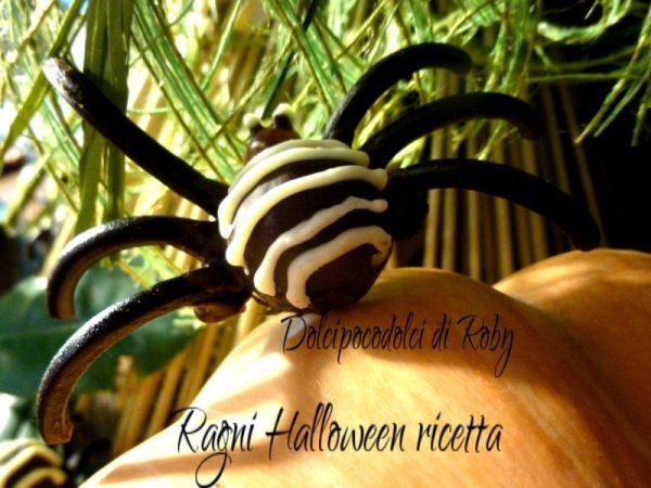 Ragni Halloween ricetta 01