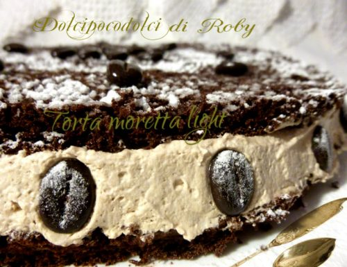 Torta moretta light