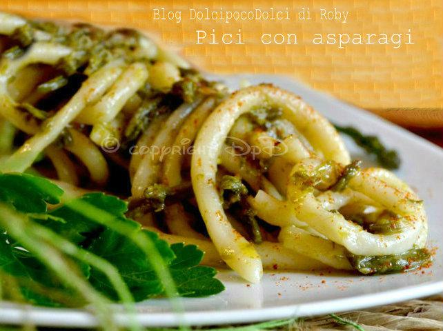 Pici ricetta pasta e asparagi