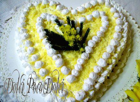 Ricetta torta mimosa alla crema baileys