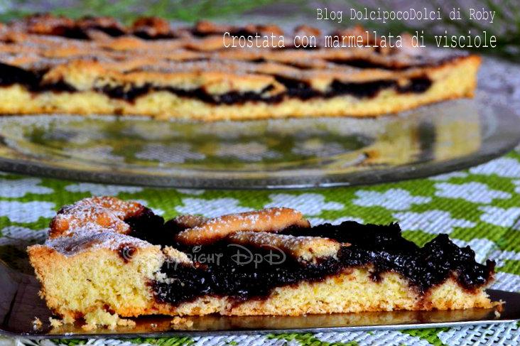 Crostata con marmellata di visciole 2
