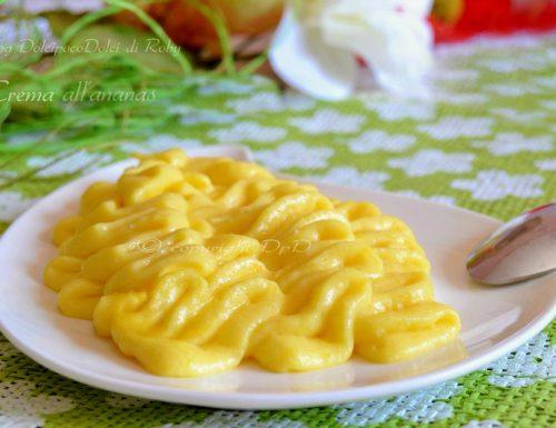 Crema ananas caramellato