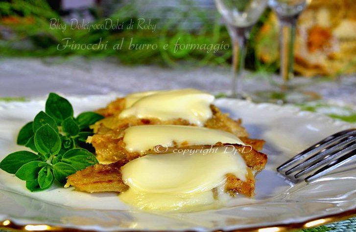 Finocchi al burro e formaggio