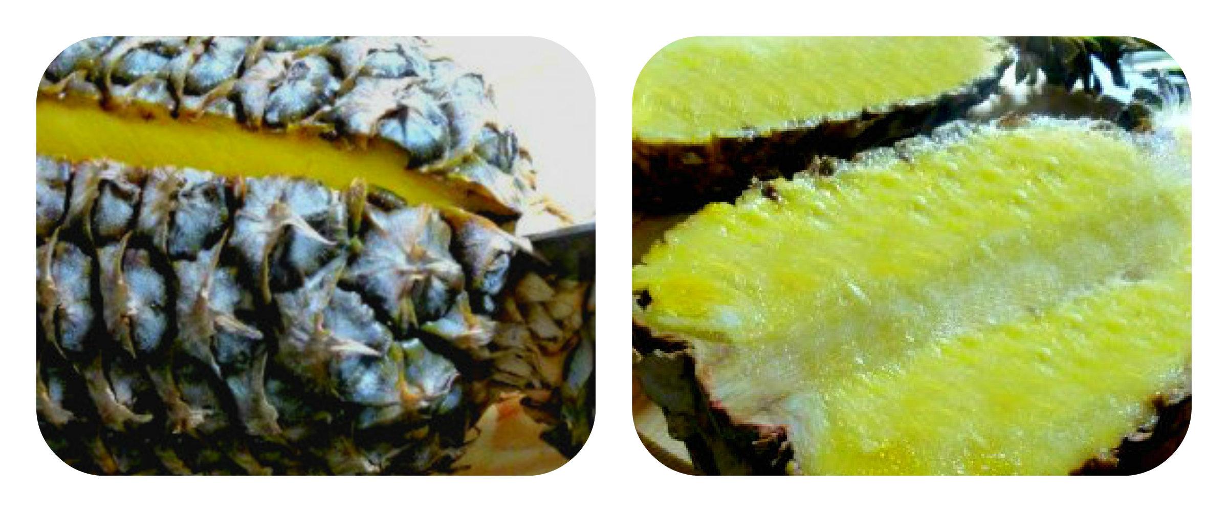 Come si taglia l'ananas a cigno