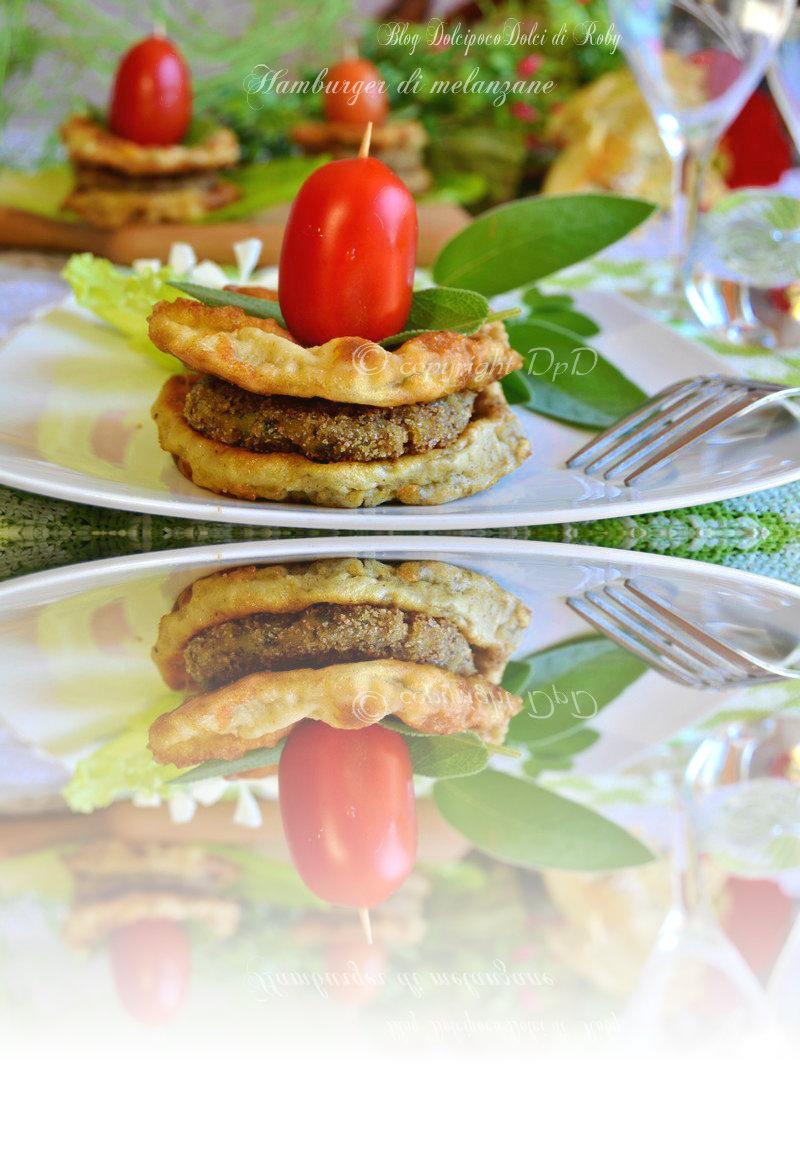 Hamburger di melanzane ricetta golosa