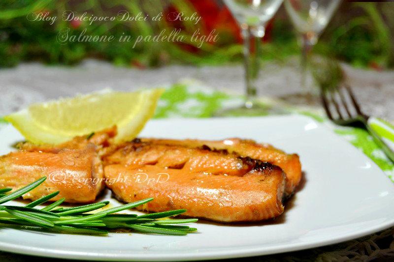 Ben noto Salmone in padella light | Dolcipocodolci ZR99