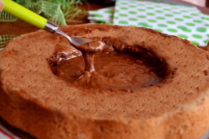 Torta souffle alla nutella 8