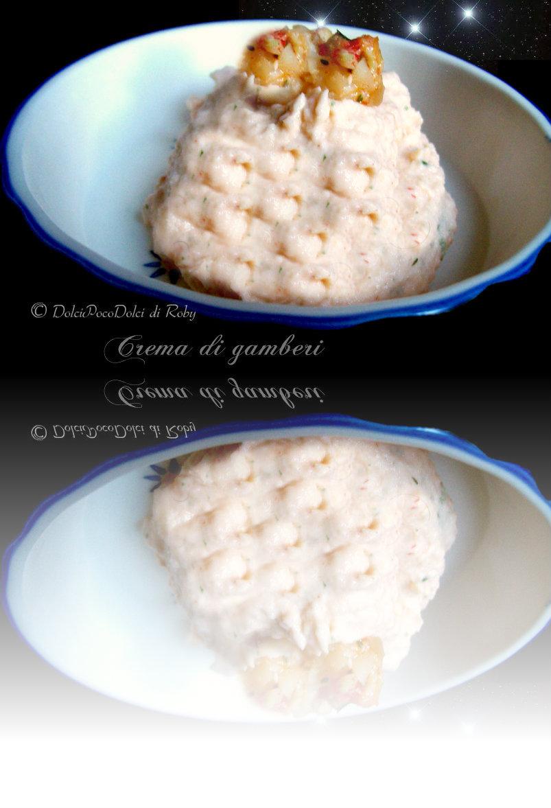 Crema di gamberi