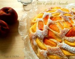torta di pesche di Antonella