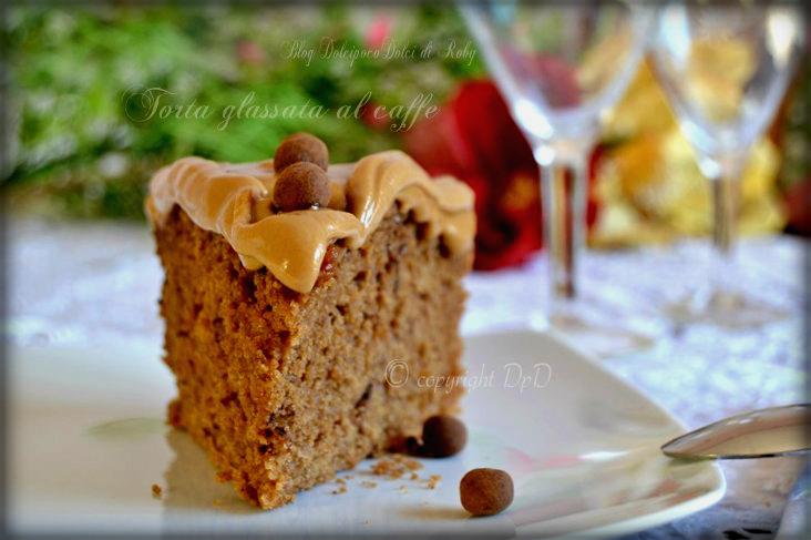Torta glassata al caffe