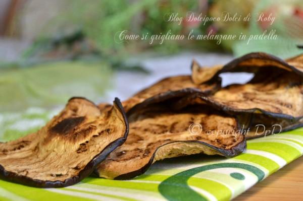 Come si grigliano le melanzane in padella