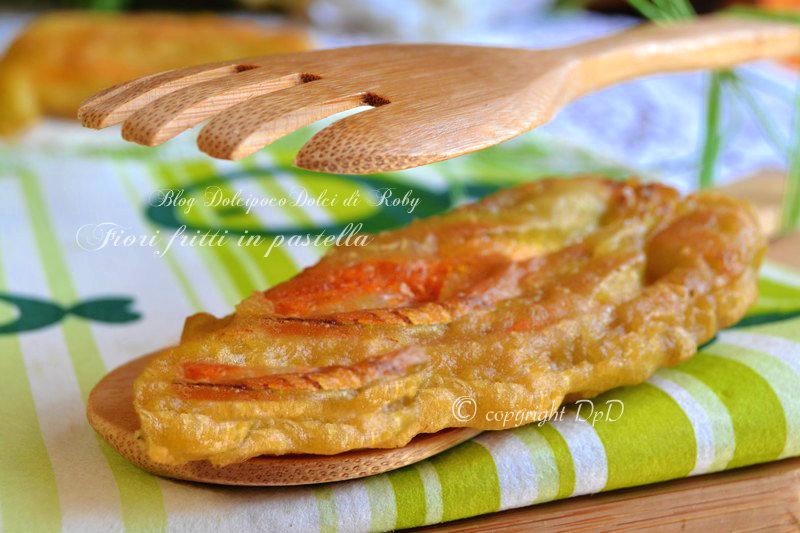 Fiori fritti in pastella 2