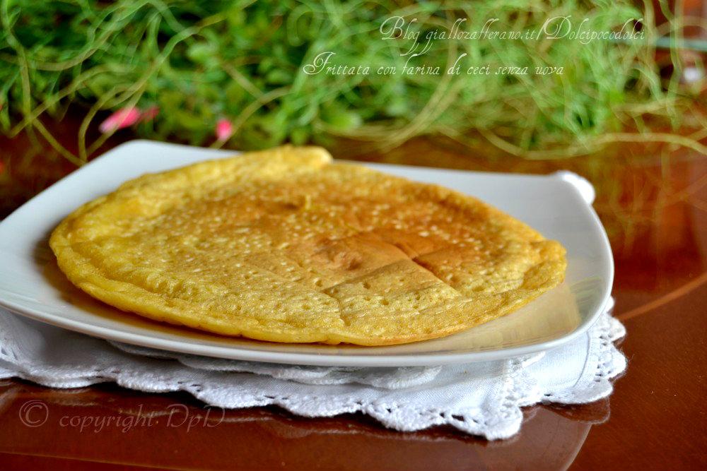 Frittata con farina di ceci senza uova 8
