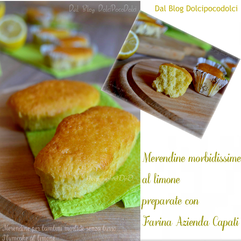 Merendine al limone morbide