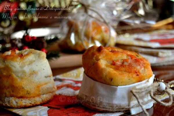 Muffin salati salmone e maionese 04