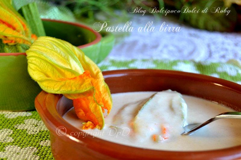 Pastella alla birra per fiori di zucca2
