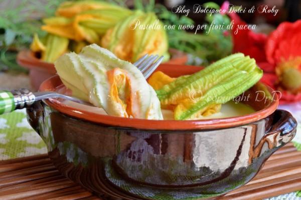 Pastella con uovo per fiori di zucca3