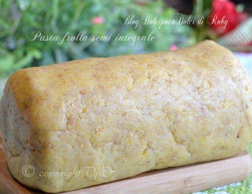 Ricetta pasta frolla semi integrale