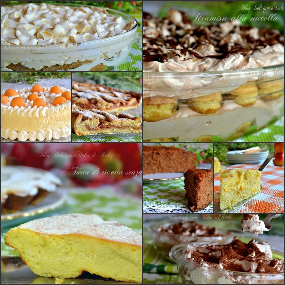 Ricette dolci facili for Ricette dolci