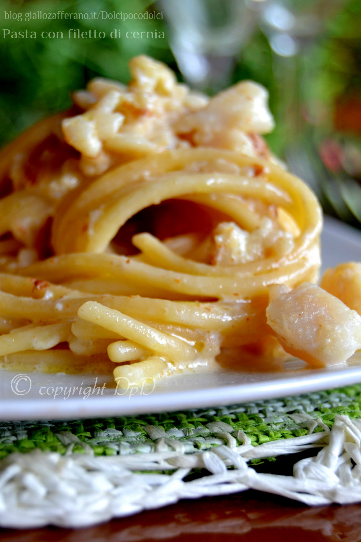 Pasta con filetto di cernia 6