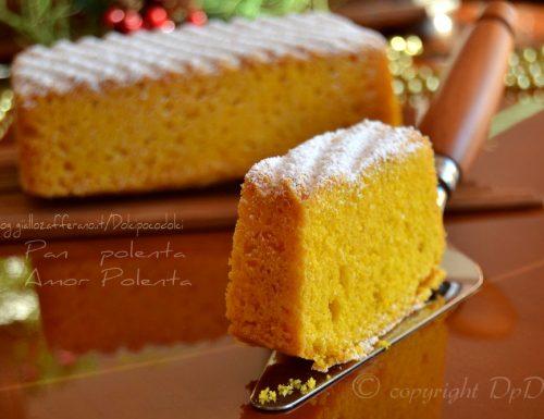 Pan polenta o amor polenta di pasticceria