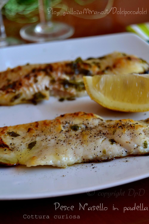 Pesce nasello in padella cottura curiosa 15